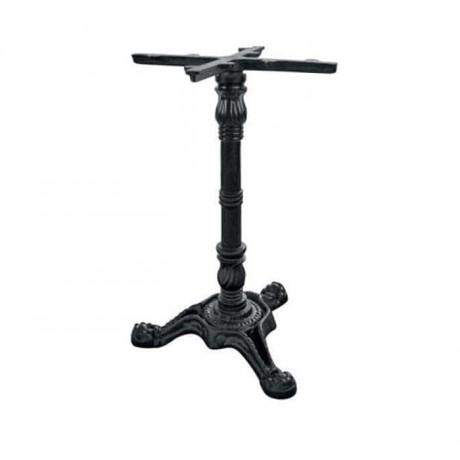 Üçlü Aslan Ayaklı Siyah Döküm Masası Ayağı - grs3343