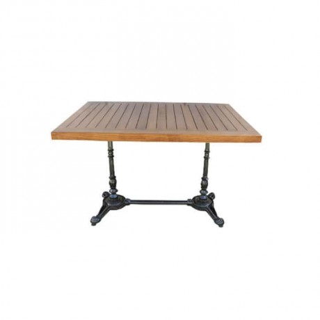 Aluminum Casting Leg Table - dkm9601