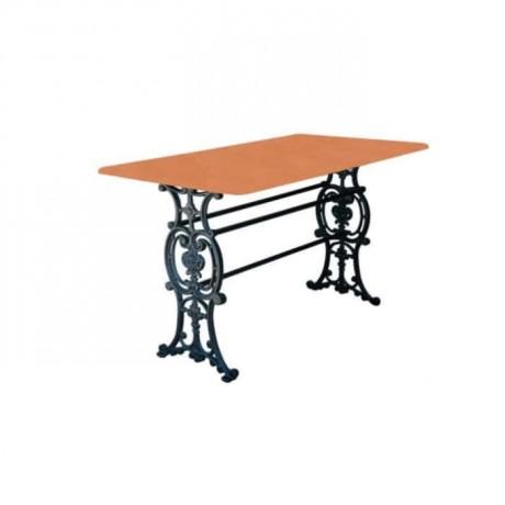 Aluminum Casting Leged Restaurant Table - dkm9602