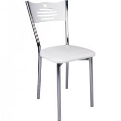 Economic White Doner Restaurant Kebab Chair Sturdy