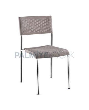Rattan Injection Chair with Aluminum Frame