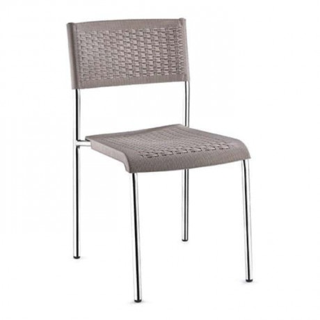 Rattan Injection Chair with Aluminum Frame - tpi9901