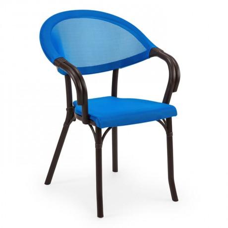 Fileli İç İçe Geçebilen Plastik Enjeksiyon Cafe Restoran Havuz Villa Sandalyesi - tps9914