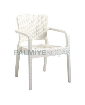 Rattan Injection Cafe Arm Chair