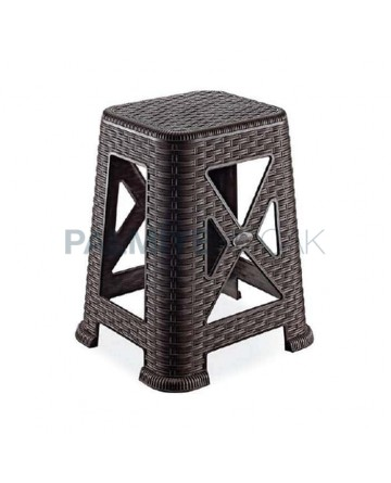 Rattan Injection Stool