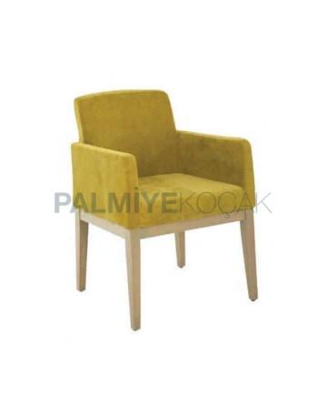 Fıstık Yeşil Modern Kollu Poliüretan Sandalye