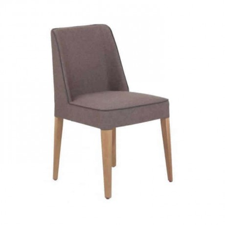 Gray Fabric Upholstered Polyurethane Cafe Chair - psa615