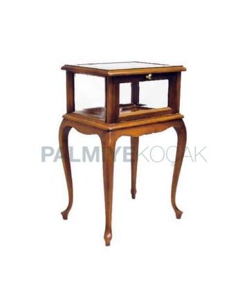 Wooden Curio Cabinet 01