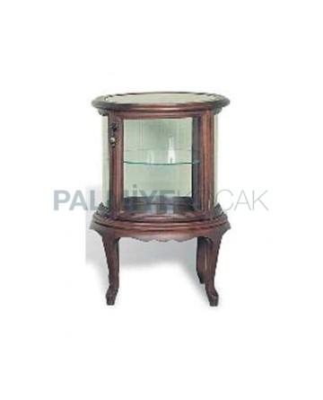 Wooden Curio Cabinet 05