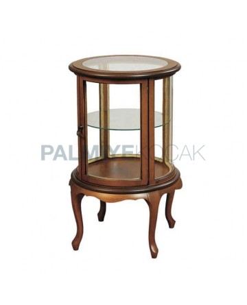 Wooden Curio Cabinet 08