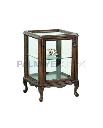 Wooden Curio Cabinet 10