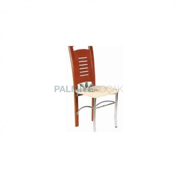 Birch Paint Colored Metal Chair