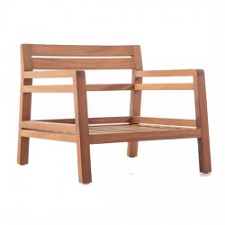 Iroko Bergere Armchair 1st Quality