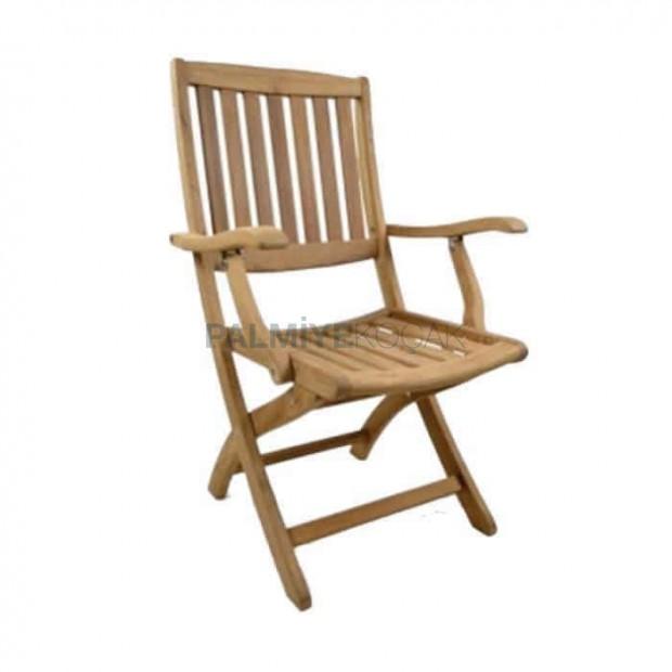 Iroko Outdoor Folding Armchair