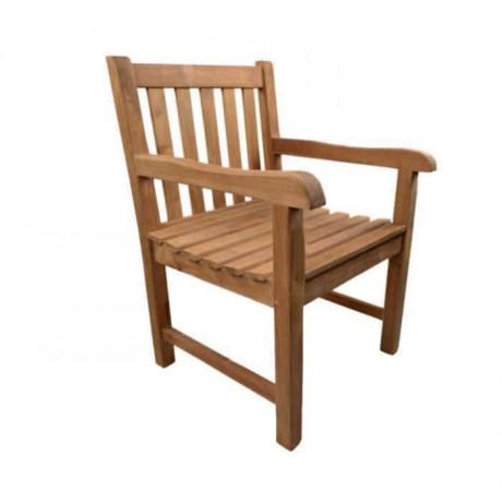 İroko Kollu Bahçe Sandalyesi - btk30