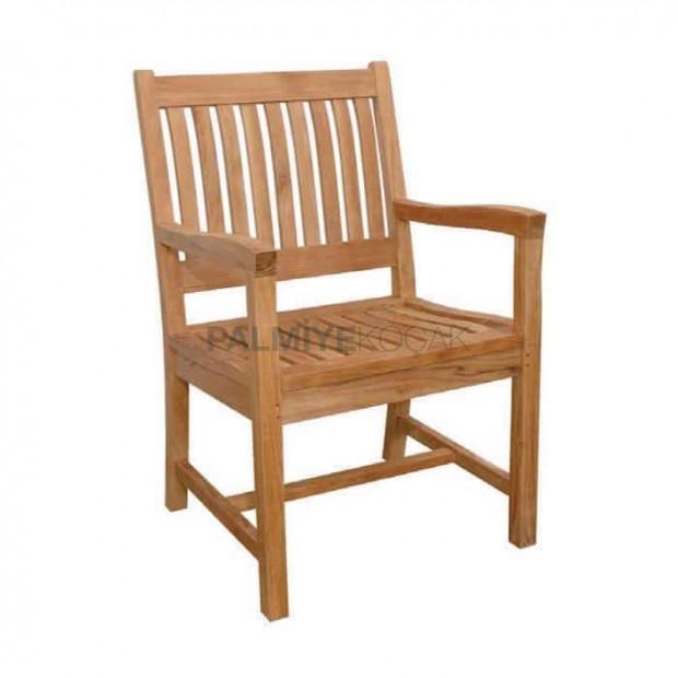 İroko Kollu Cafe Sandalyesi