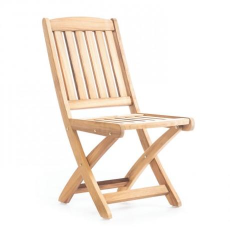 Iroko Garden Armless Chair - btk2024