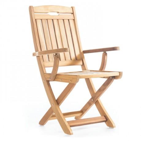 İroko Restoran Bahçesi Kollu Sandalyesi - btk2029