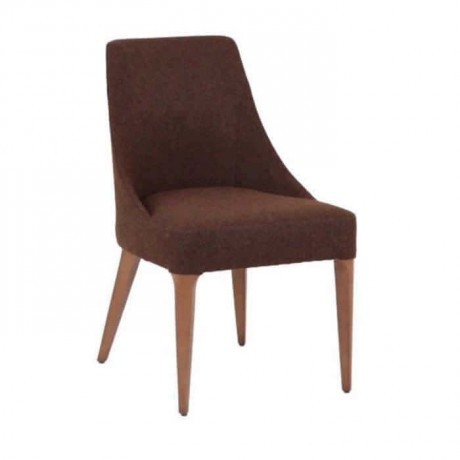 Brown Upholstered Polyurethane Chair - psa612