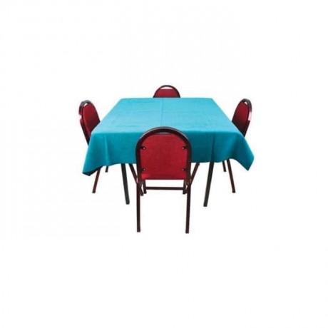 Bordo Kahve Sandalyesi Masası - khv547
