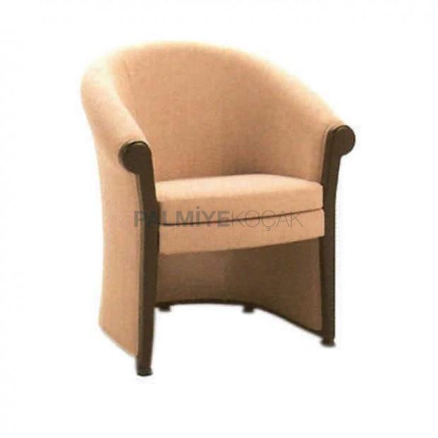 Kapalı Kollu Kumaş Rustik Sandalye
