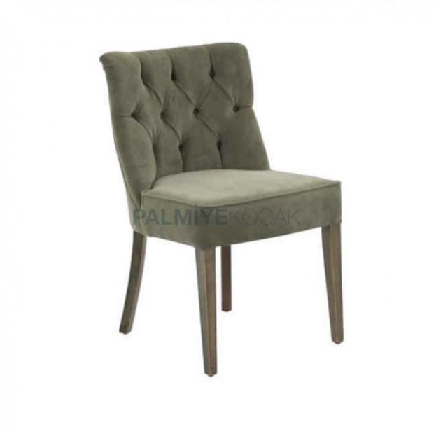 Quilted Polyurethane Restaurant Chair