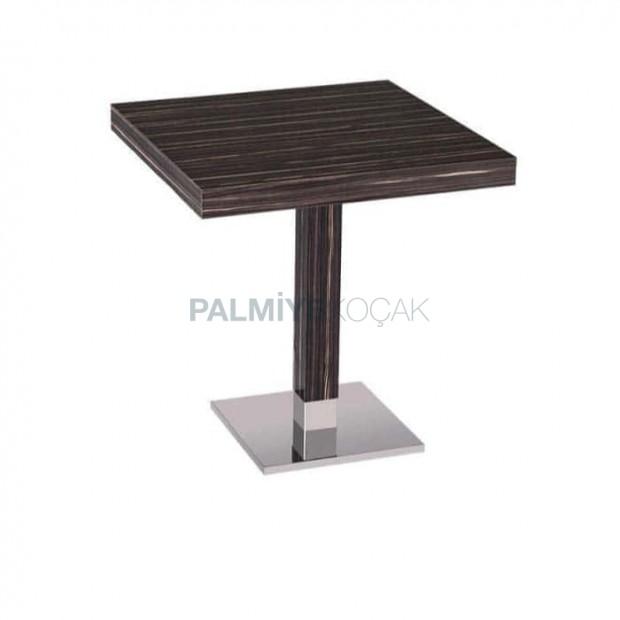 Ebony Upholstered Painted Cafe Table