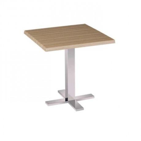 Square Table Top Metal Leg Restaurant Table - mtm4005
