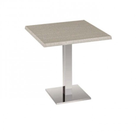 Square Table Stainless Steel Leg Table - mtm4004