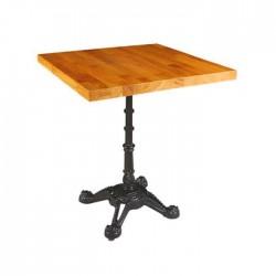 Beech Wooden Table Massive Panel Table Mold Legs