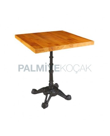 Beech Wooden Table Massive Panel Table Mold Legs