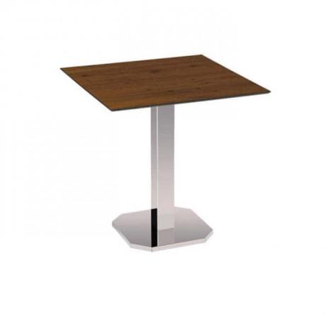 Krom Ayaklı Cafe Masası - mtm4009