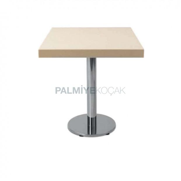Lake Painted Metal Leg Table