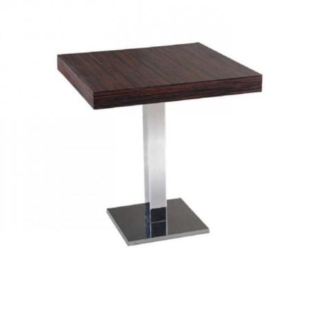 Metal Ayaklı Cafe Masası - mtm4001