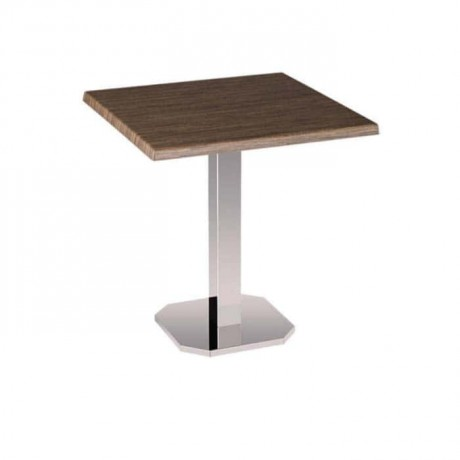 Verzalit Cafe Table with Metal Legs - mtm4003