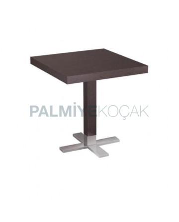 Venge Table Top Metal Leg Cafe Table