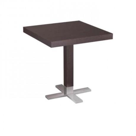 Venge Tablalı Metal Ayaklı Cafe Masası - mtm4013