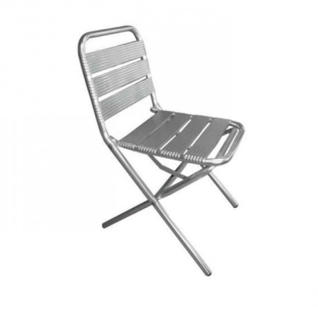 Folding Aluminum Chair - alb05