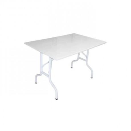 Rectangular Folding Leg Wedding  Hall Table - bank08