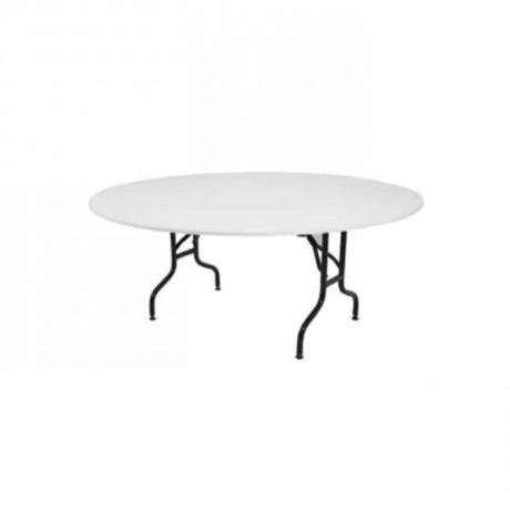 Folding Leg Wedding Hall Table - bank05