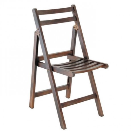 Koyu Eskitme Katlanır Sandalye - aks02