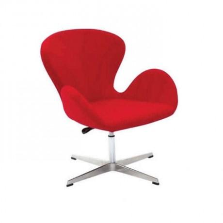 Kırmızı Poliüretan Kollu Sandalye - psd229