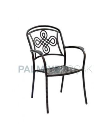 Winter Garden Aluminum Casting Chair
