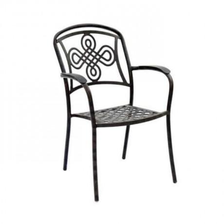 Kış Bahçesi Alüminyum Döküm Sandalye - dks9018