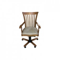 Wooden Classic Arm Swivel  Office Chair