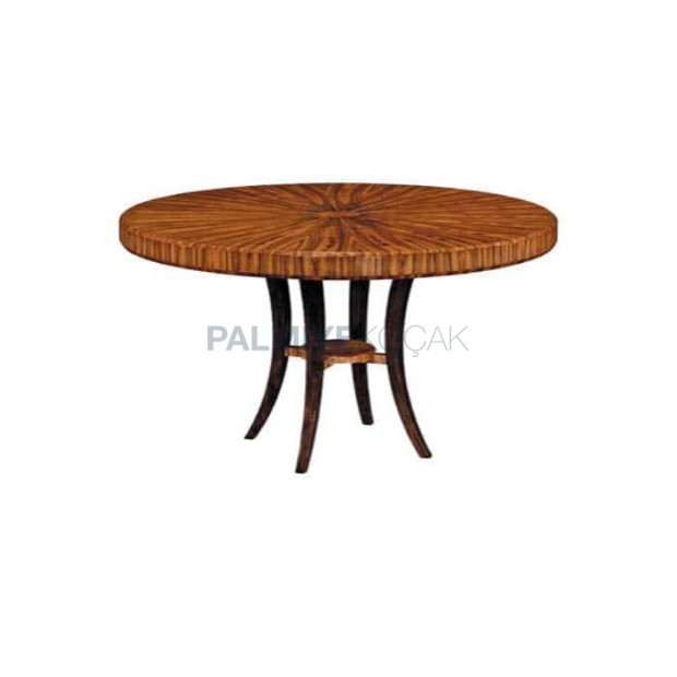 Classic Lounge Table with Wooden Table Top