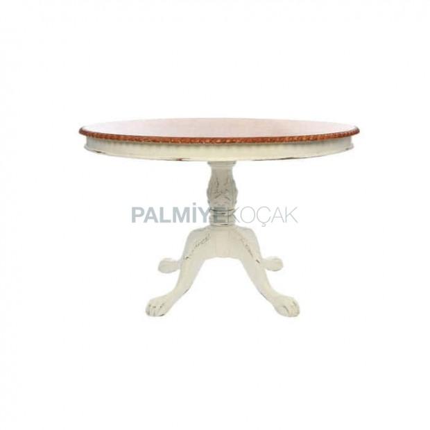 White Lake Leg Painted Wooden Lounge Table