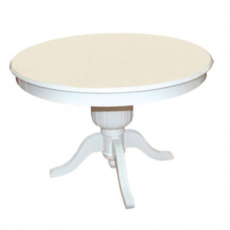 Classic Table with White Lake Splayed Legs - kym05