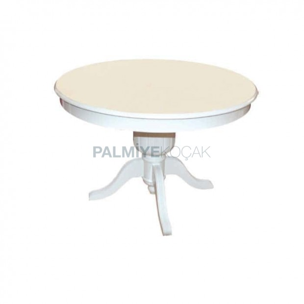 Classic Table with White Lake Splayed Legs