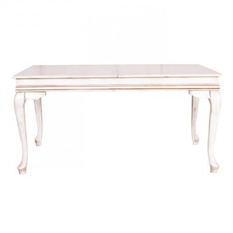 White Patina Lukens Table - kdm07